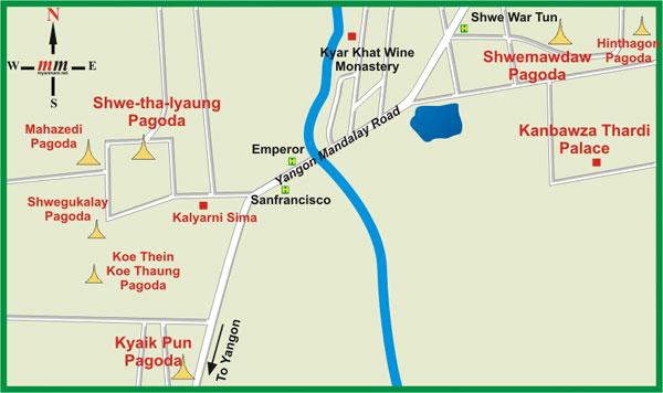 Карта Баго
