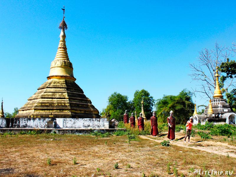Территория комплекса Кое Thein Koe Thaung Pagoda