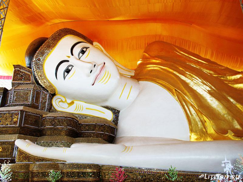 Лежащий Будда в Пегу (Баго)