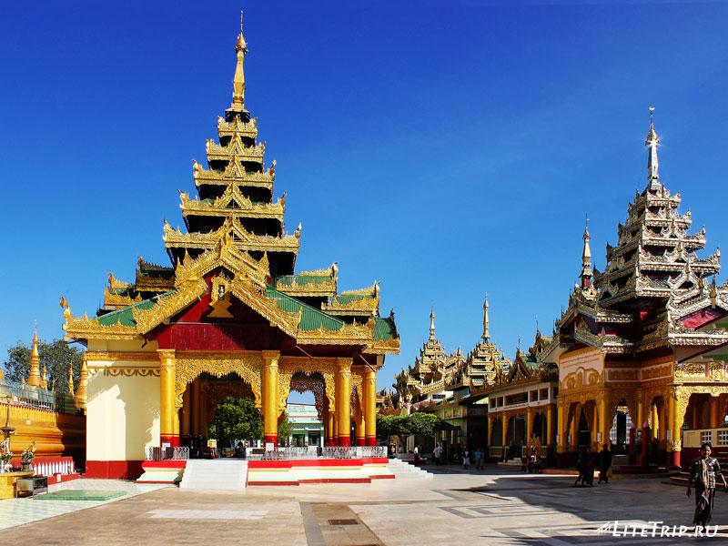 Пагода Швемодо в Пегу (Баго)