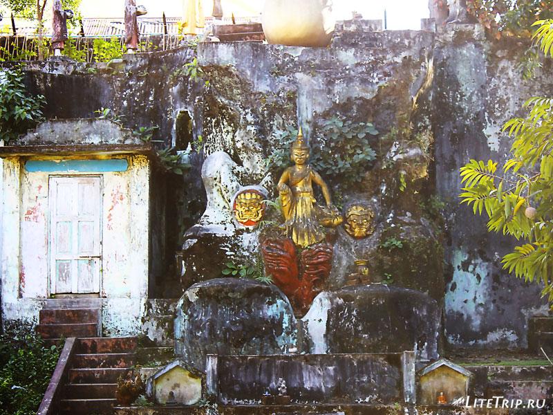 За стенами Пагоды Швемодо в Пегу (Баго)