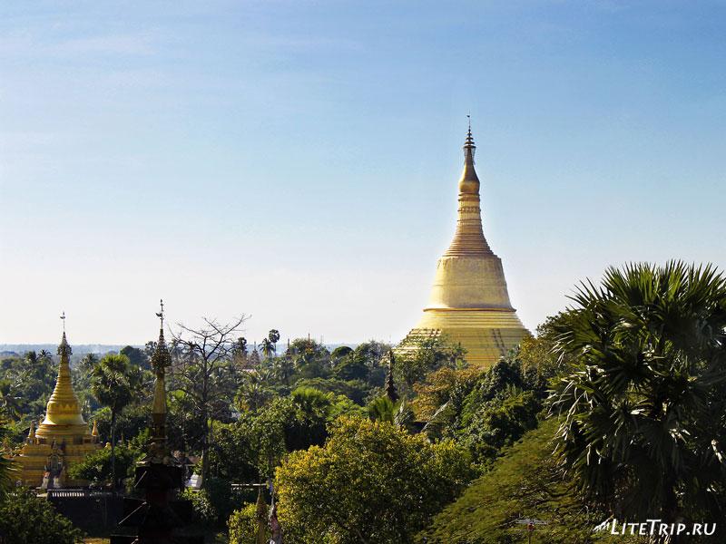Вид с храма на Пегу (Баго)