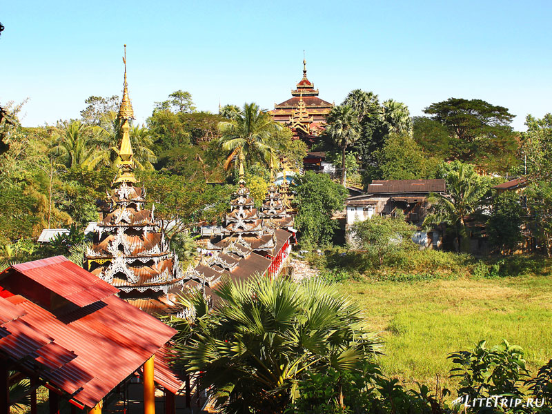 Храм в Пегу (Баго)