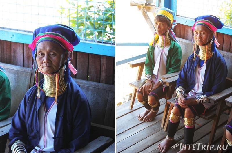 Озеро Инле. Племя длиношеих женщин.
