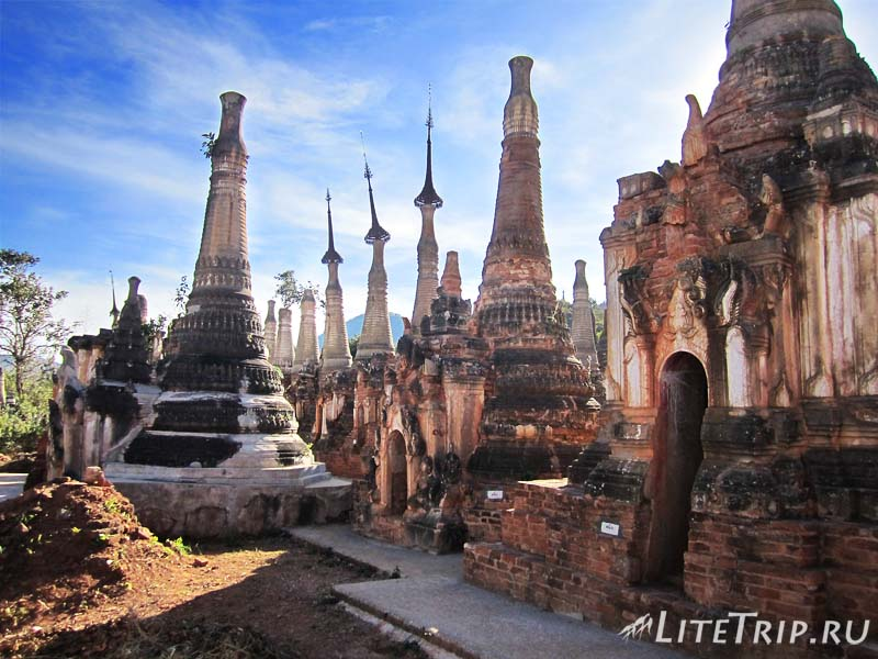 Озеро Инле. Индейн Пагода.