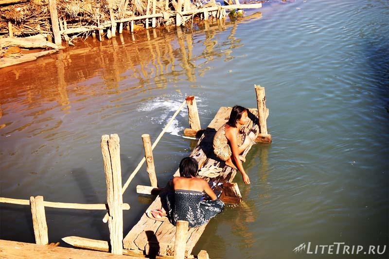 Озеро Инле. Жители.