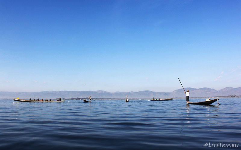 Озеро Инле. Рыбаки.