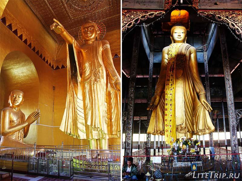 Холм Мандалай. Будды.