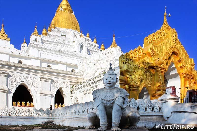 Амарапура. Скучная пагода.
