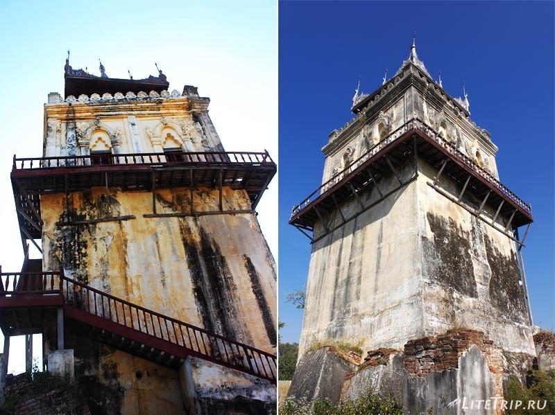 Инва. Смотровая башня Намьин.