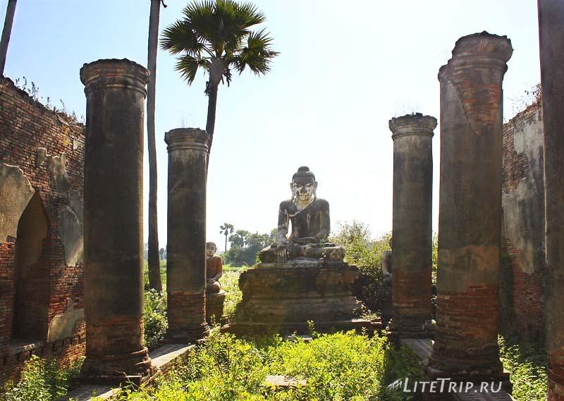 Развалины древней Инвы.