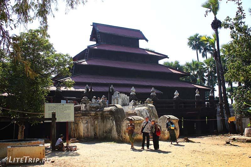 Тиковый монастырь Багайя в Инве.