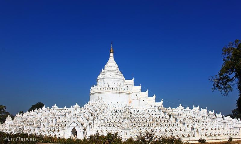 Мингун. Пагода Синбьюме.