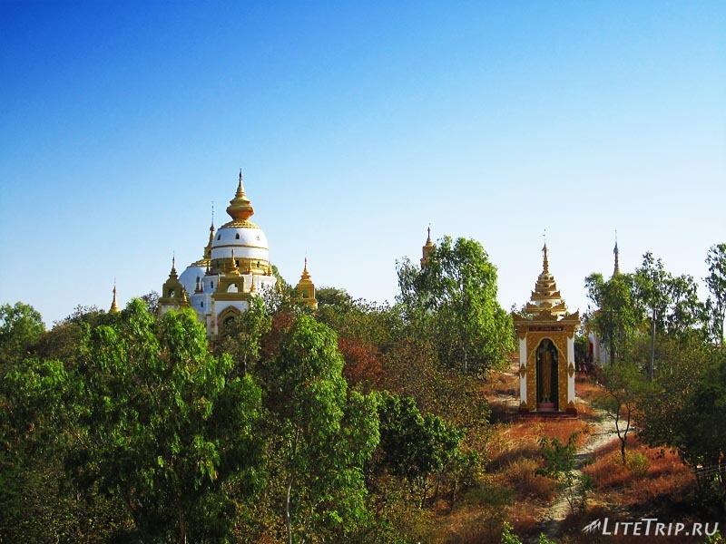Компалекс Bodhi Tataung на холме.