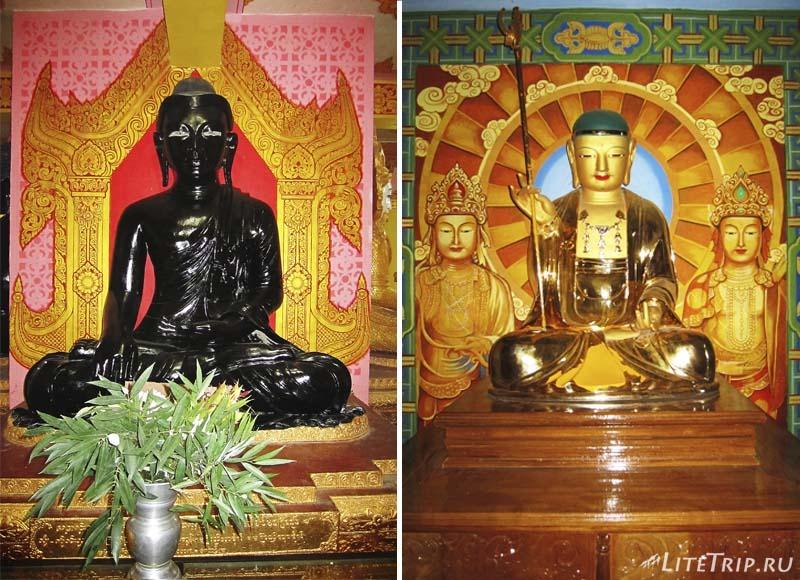 Компалекс Bodhi Tataung на холме. Стоящий Будда