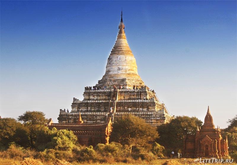 Баган. Храм Швесандо (Shwesandow Pahto).