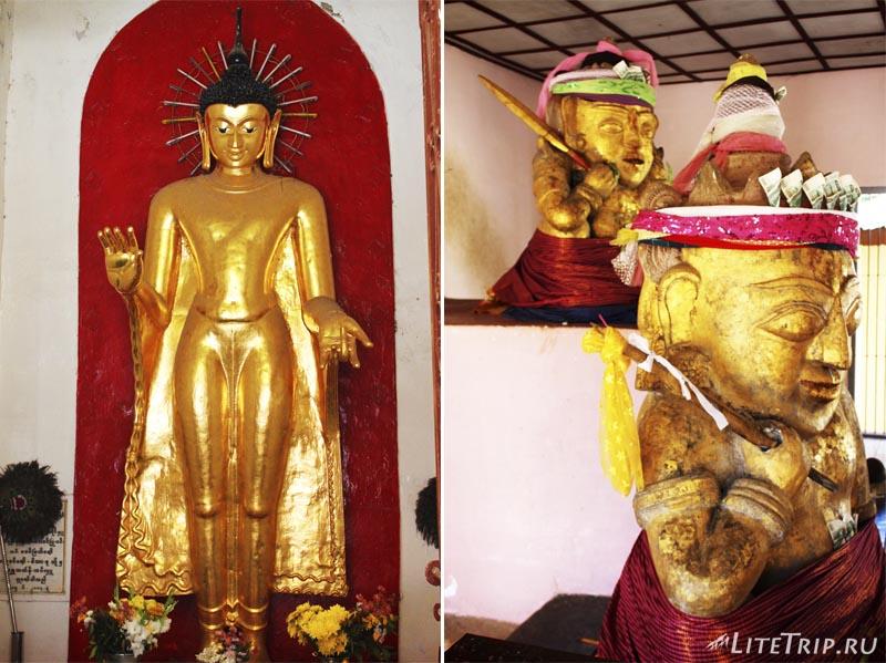 Баган. Золотая пагода Швезигон (Shwezigon Pagoda)