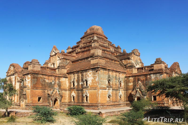 Баган. Храм Дамаянджи (Dhammayangyi Palin)