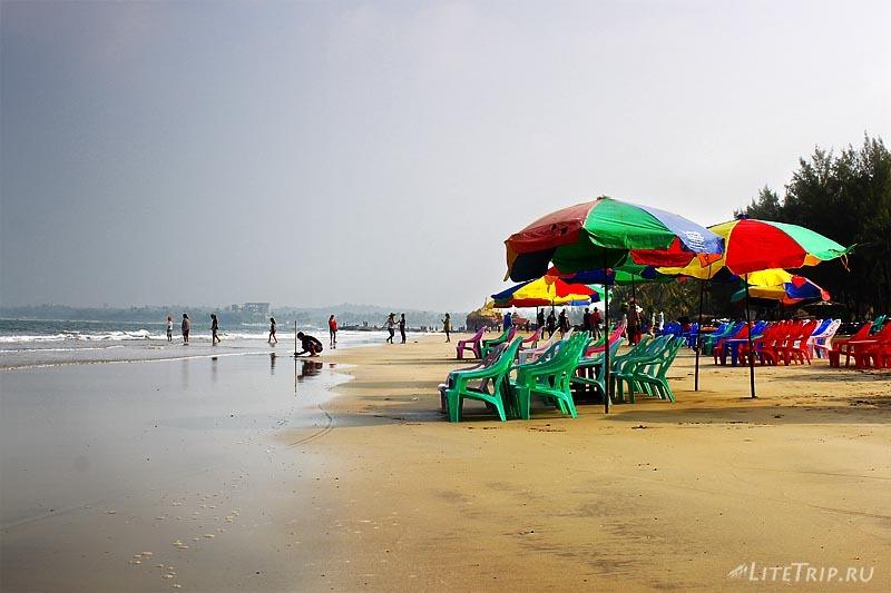 Пляж Чаунг Та.