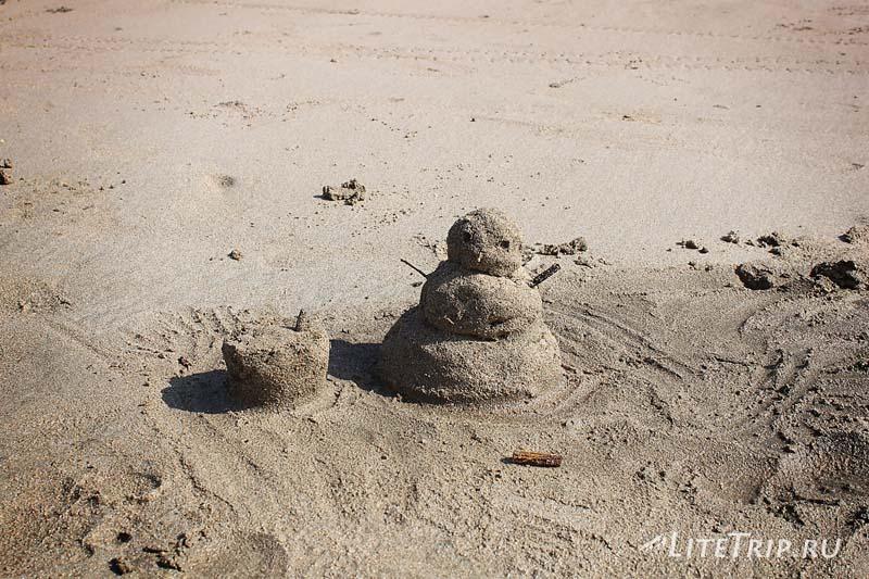 Пляж Чаунг Та. Песковик =)