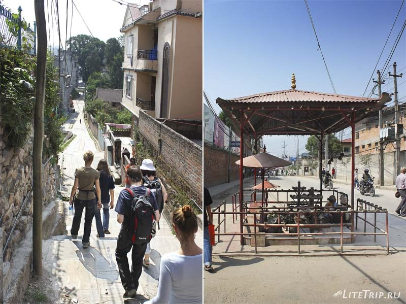 Улицы Катманду (Непал)