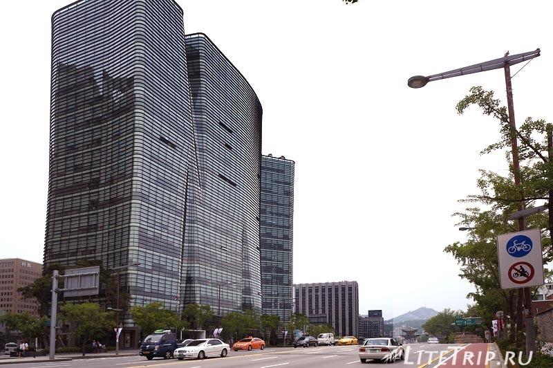 Южная Корея. Улицы Сеула.