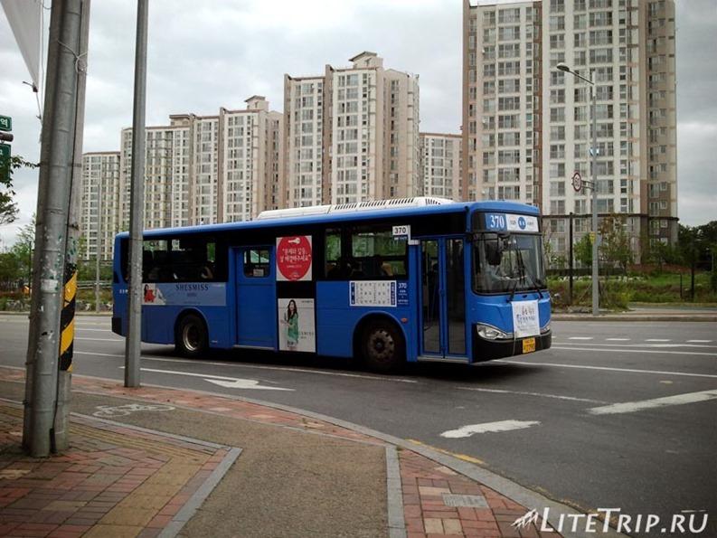 Южная Корея. Транспорт и автостоп.