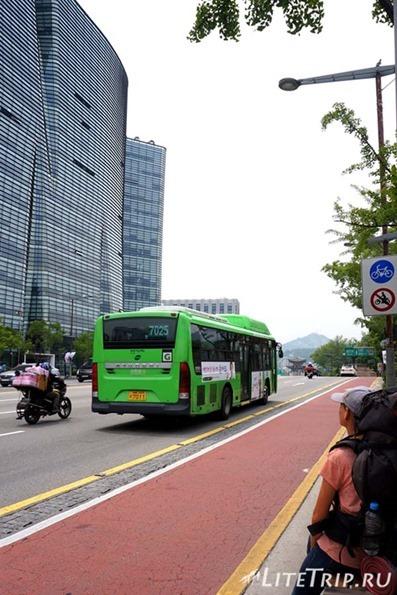 Автостопом по Южной Корее.
