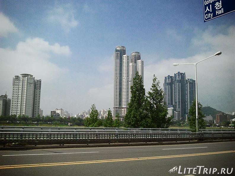 Южная Корея. Город Ульсан.
