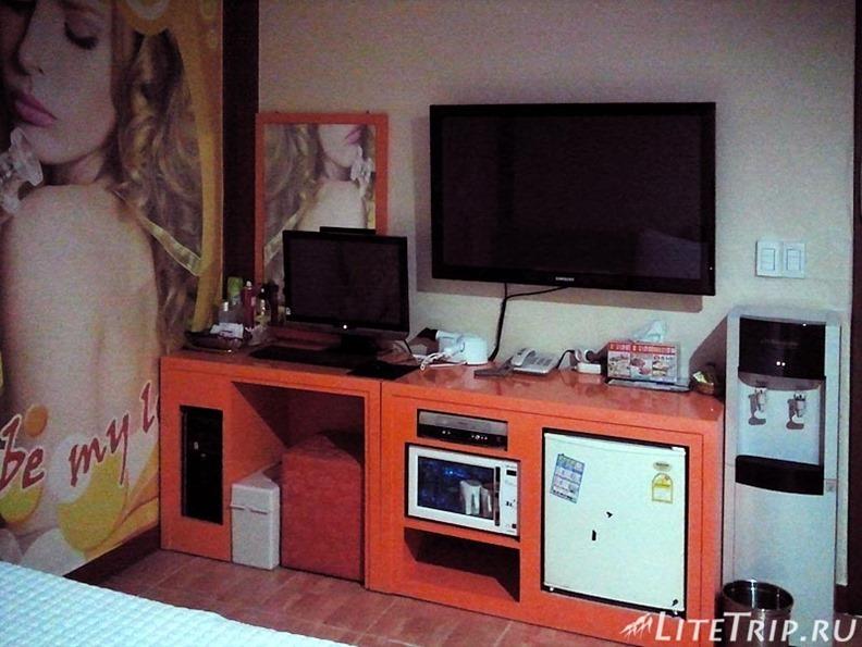 Южная Корея. Ульсан - комната в мотеле.