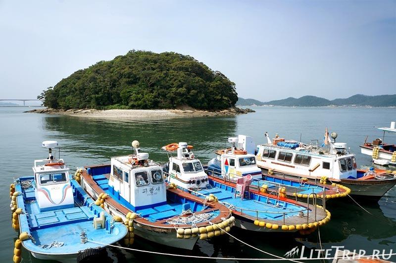 Южная Корея. Вандо - пристань.