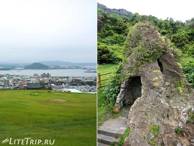 Южная Корея. Джеджу. Вулкан Сеонсан - камни.