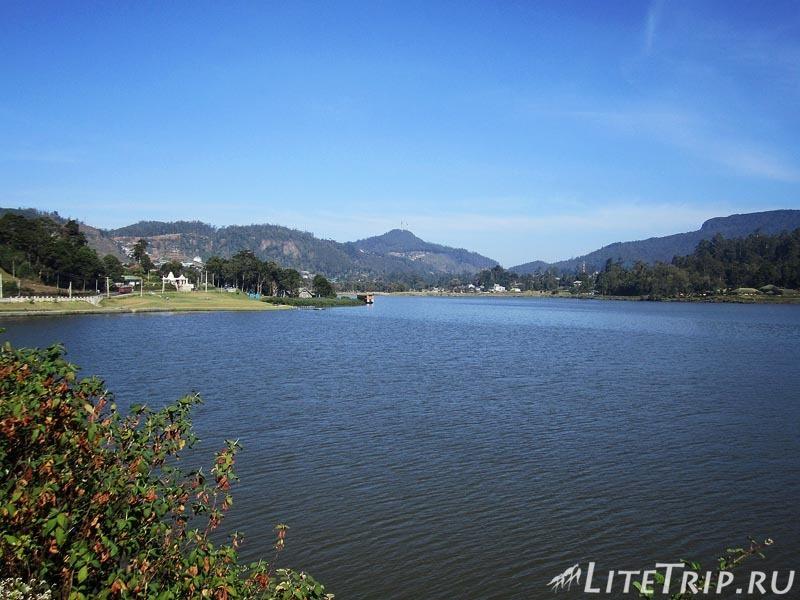 Шри-Ланка. Озеро Грегори в Нувара-Элия.