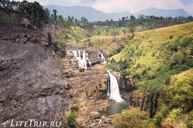 Шри-Ланка. Нувара-Элия. Водопад Сент - Клер