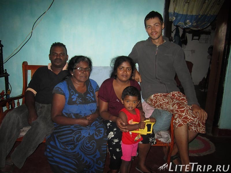 Шри-Ланка. Хапутале - в гостях у святого отца.