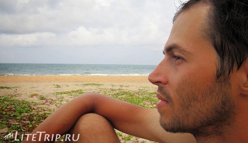 Шри-Ланка. Поттувил - на берегу залива Аругам Бей.
