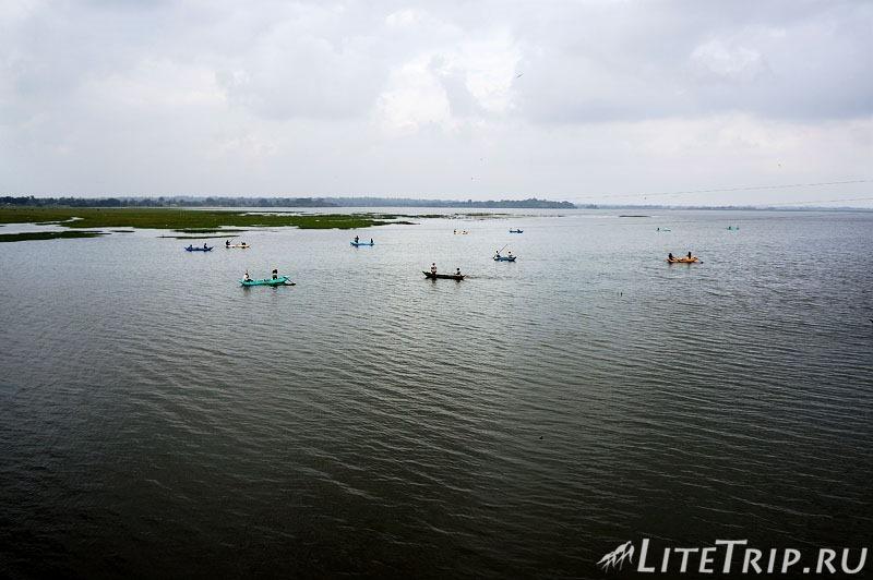 Шри-Ланка. Рыболовство в Поттувиле.