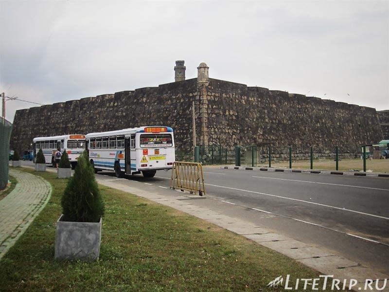 Шри-Ланка. Как добраться до Галле на автобусе.