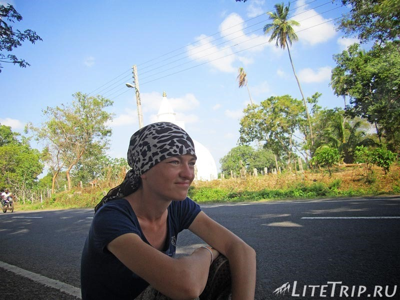 Шри-Ланка. Как добраться до Галле автостопом.