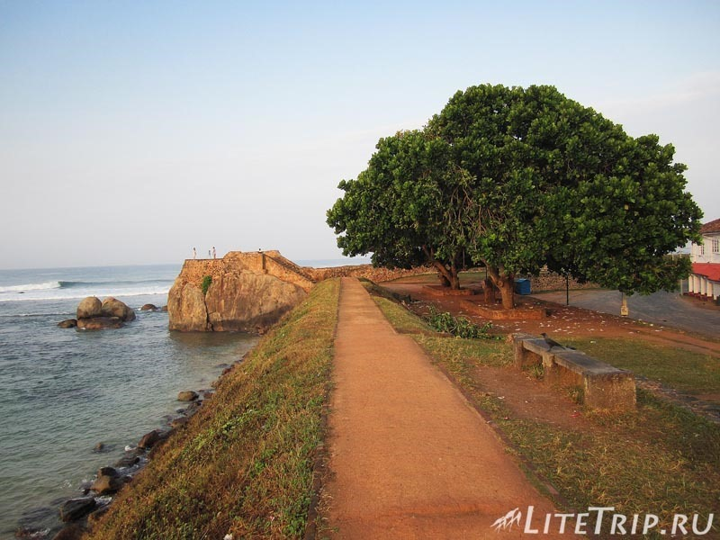 Шри-Ланка. Утренний форт Галле.