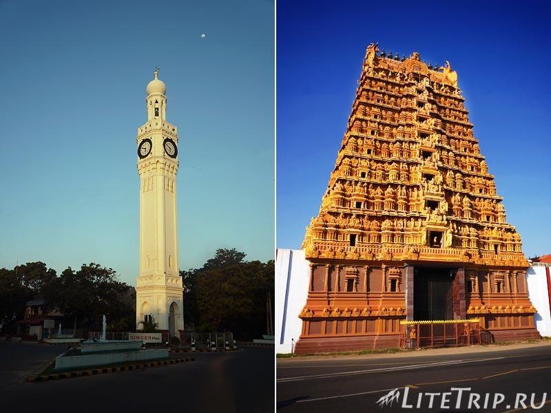 Шри-Ланка. Джафна. Храм Кандасвами.
