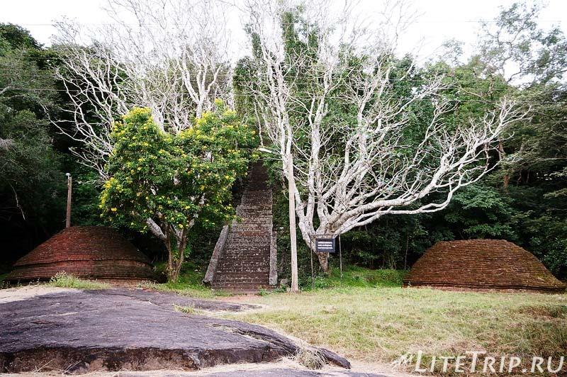 Шри-Ланка. Монастырь Михинтале - подъем.