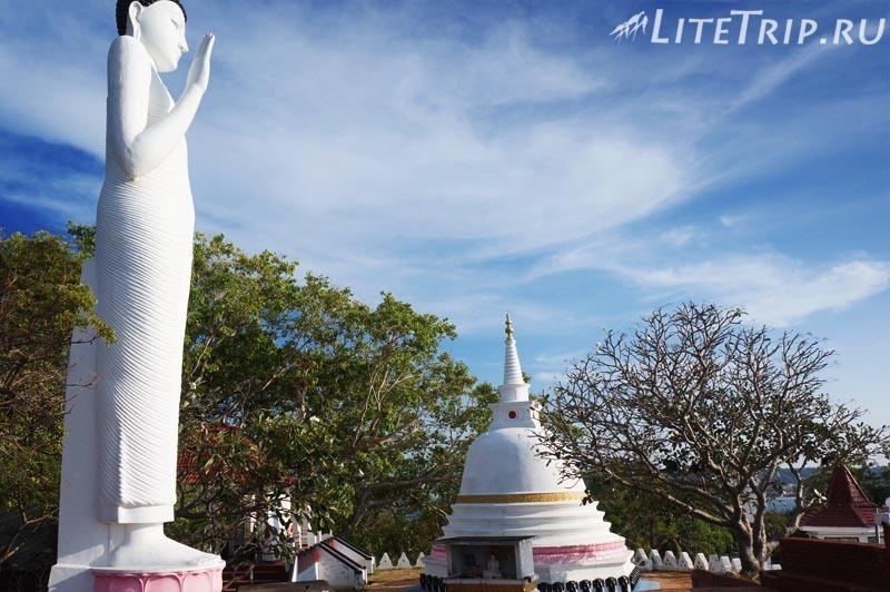 Шри-Ланка. Тринкомали - храм Конесварам Ковил (Koneswaram Kovil)