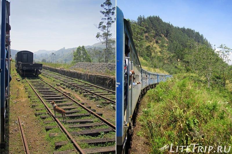 Шри Ланка. На поезде до Хаттона.