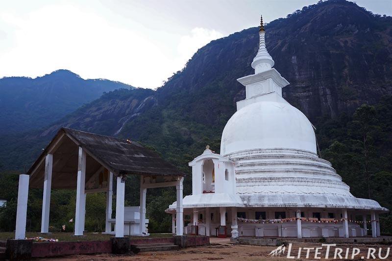 Шри-Ланка. Тропа к пику Адама - храм по пути.