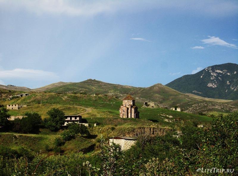 Автостопом до границы Грузия-Армения.