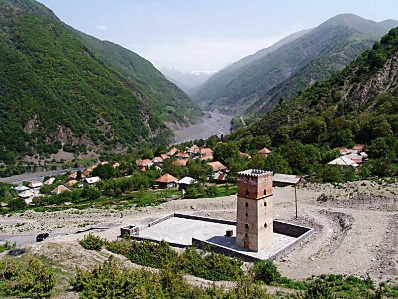 Азербайджан. Крепость Сумуг в Илису.
