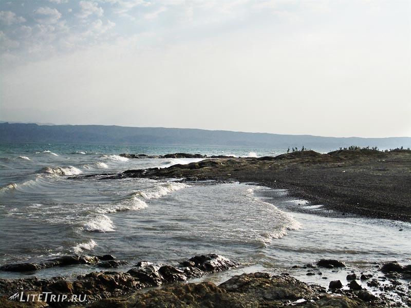 Азербайджан. Мингечаурское водохранилище или море.