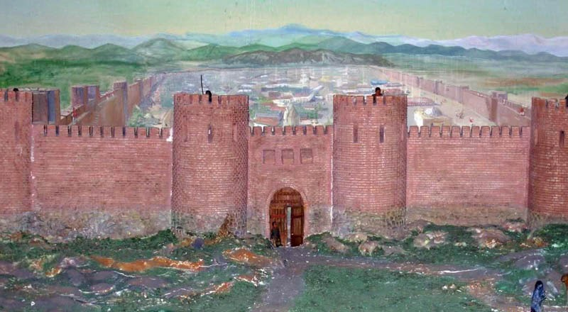 Азербайджан. Древний город Кабала.