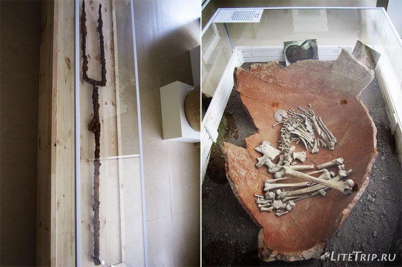 Азербайджан. Музей на территории древнего города Кабала.